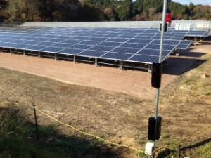 太陽光パネル 外周警備